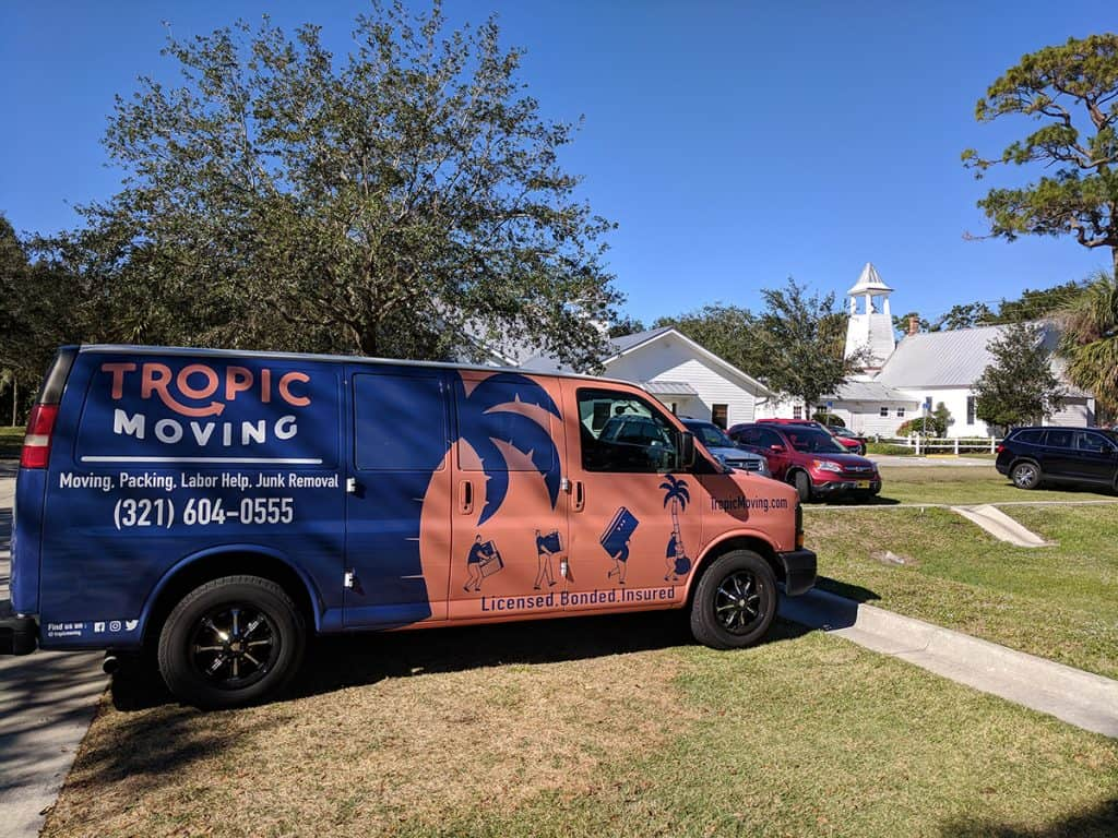 Residential moving opportunity done by Tropic Moving