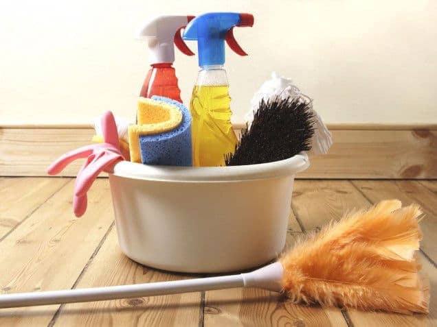 cleaning supplies for your home