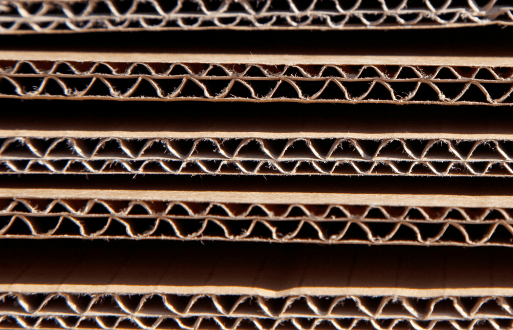 corrugated cardboard for packing